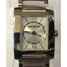 Montblanc Ladies Profile Stainless Steel 7047 Watch Stainless Steel Band