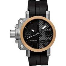 Oakley Gearbox Automatic Honed/Carbon Dial/Bronze Bezel/Black Unobtainium