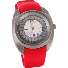 SINOBI Waterproof Children Analog Sport Watch (Red)