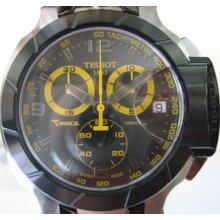 Tissot T-race Men's Chrono Watch Sapphire Rubber Original Edition Swiss