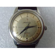 Vintage Swiss Titoni 21j Manual Men's Watch