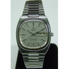 70's Omega Seamaster Cal:1020 Auto Silver Dial Man's