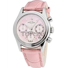 Armand Nicolet M03 Date Chrono Steel Pink