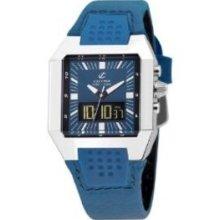 Calypso Men's K5335/1 Blue Strap Blue Dial Analog and Digital