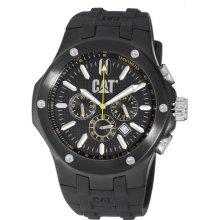 Caterpillar Men's A116321121 Navigo Chrono Black Analog Dial Watch