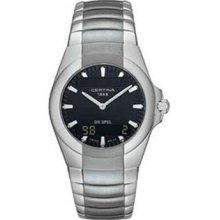 Certina Ds Spel Men's Watch Digital Display Steel Bracelet C-196-7155-42-51