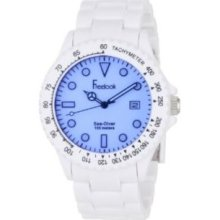 Freelook Men's HA1439-9D Sea Diver London Fog Blue Dial