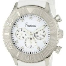 Freelook Men's HA5046-9 White Chrono White Dial