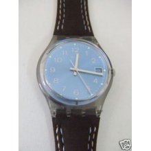 Gm415 Swatch - 2004 Blue Choco Date Hands Glow Art