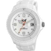 ICE Watch SIWEBBS11 Unisex Watch 52mm White Sili Forever Collection SI.WE.BBS.11