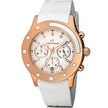 Ladies' Water Champ Rose Gold & White Watch