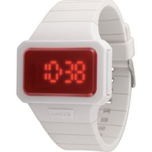 Levis Red White Colorful Series Unisex Watch Lti0201
