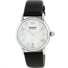 Montblanc Meisterstuck 107118 Swiss Made Stainless Steel Automatic Ladies Watch