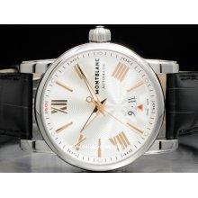 Montblanc watch Montblanc watch Star 4810 NEW 105858 stainless steel