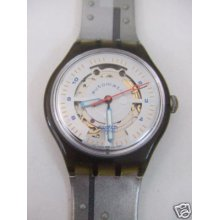 Sam104 Swatch - 1994 Auto Silver Baron Hands Glow Art