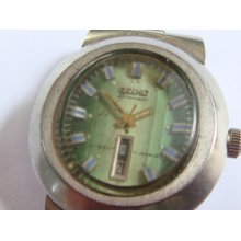 Seiko Lady 2700-7060 Automatic 17 Jewels For Parts Or Repair Serial Number..4n5