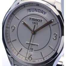 Tissot T-one 25 Jewel Automatic Sapphire Silver Dial T038.430.11.037.00