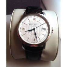 2010 Baume Mercier Classima Executive Automatic Watch Model M0a08731 Exc Cond.