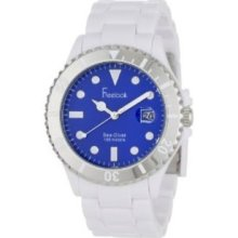 Freelook Mens HA1437-9D Sea Diver White Blue Dial