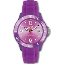 Ice-Watch Unisex Sili Purple Watch - Bracelet - Purple Dial - SI.PE.U.S.09