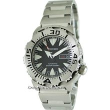 Seiko Japan Made Automatic Monster Diver Srp307j Srp307 Mens Watch