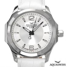 Aquaswiss 40g3001 Swiss Movement Men's Watch Silver/white