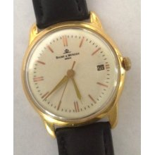 Baume & Mercier Watch 25 Jewel Automatic Movement Leather Band