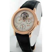 Blancpain Leman Perpetual Calendar Tourbillon $149,000.00 Rare 18k Gold Watch.