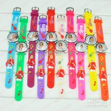 Cartoon Children Watches Kids Wrist Watches Hannah Mon,tana Silicone