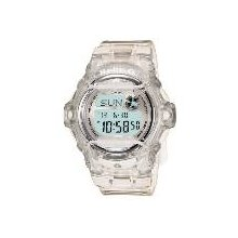 Casio Womens BG169R-7B Baby-G Clear Whale Digital Sport Watch