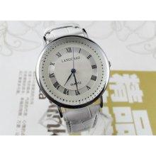 Classic Casual White Men's Dial Quartz Wrist Watches Hour Clock Bracelet