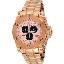 Corvette Cr220-rg Men's Zr1 Collection Rose Gold Tone Swiss Chronograph Watch