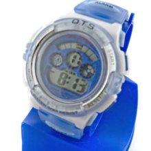 Digital Sports Ladies' Kids Date Light Watch 833 Blue