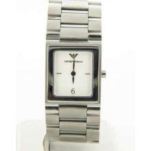Emporio Armani Ar5431 Womens White Dial Watch