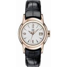 Esq 07100911 Quest Womens Watch Silver Polished Gold Plated Case 7100911