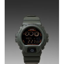 G-Shock 6900 Solar Military Series Watch in Green