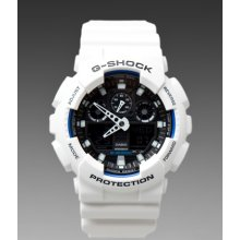 G-Shock GA-100 Limited Edition in White