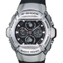 G511-1av Casio G-shock Digital Watch Black Rubber Digital Display Multi Time