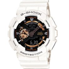 Ga-110rg-7a Casio G-shock Resistant Day And Date Analog Digital Mens Watch