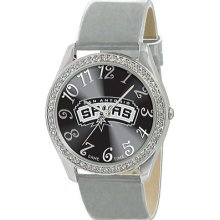 Game Time Glitz - NBA - San Antonio Spurs Black