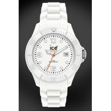 Gents Sili Forever White Ice-watch Si.we.b.s Big