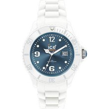 Ice-Watch Ice White Collection Jeans Unisex Watch SIWJUS10