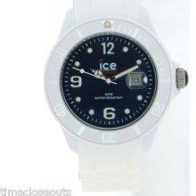 Ice Watch Siwbbs10 Dark Blue Ice White Collection Unisex Watch 48mm