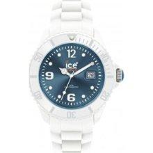 Ice-Watch Unisex Sili SI.WJ.S.S.10 White Rubber Quartz Watch with ...