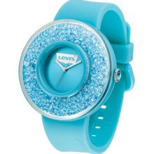 Levis Bling Crystal Decor Blue Ladies Watch Lth0501