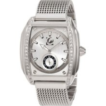 Marc Ecko The Moment Silver Dial Stainless Steel Mens Wrist Watches E17577g1