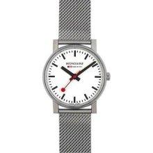 Mondaine Men's Official Swiss Railways Evo Watch - Stainless Mesh