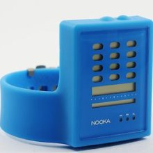 Nooka Zub Zayu Cy Unisex Blue Digital Watch