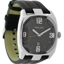 Polce Edge Watch, Black Leather Strap, Cl28.03plx