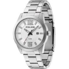 Police Men's & Women's Stainless Steel Case Steel Bracelet Watch 13406js-04m